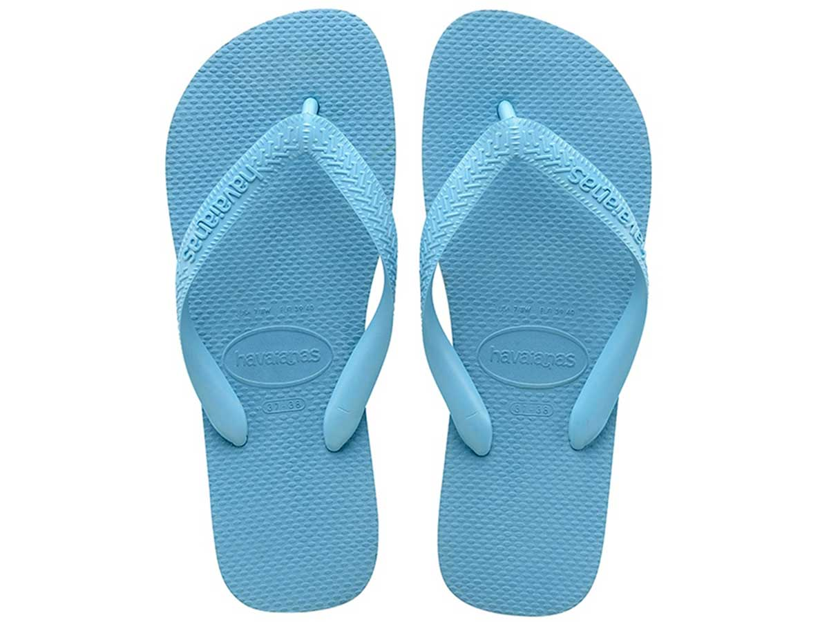 Chinelo Havaianas Top - Azul Splash Atacado