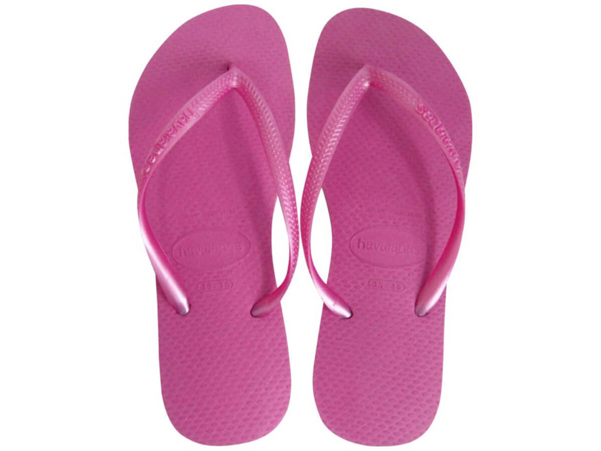 Chinelo Havaianas Slim	 - Light Pink Atacado