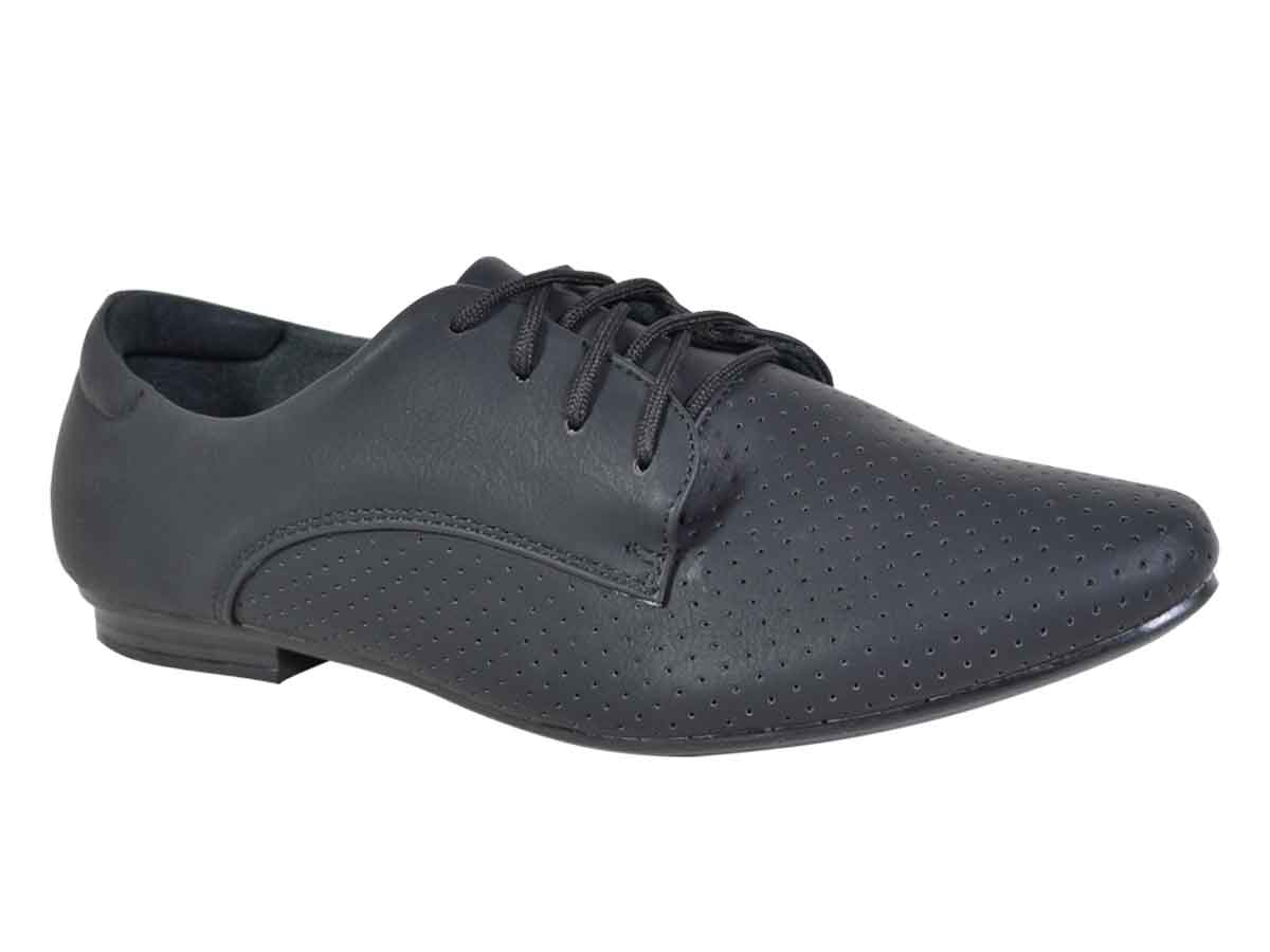 Oxford Facinelli  - Preto  Atacado