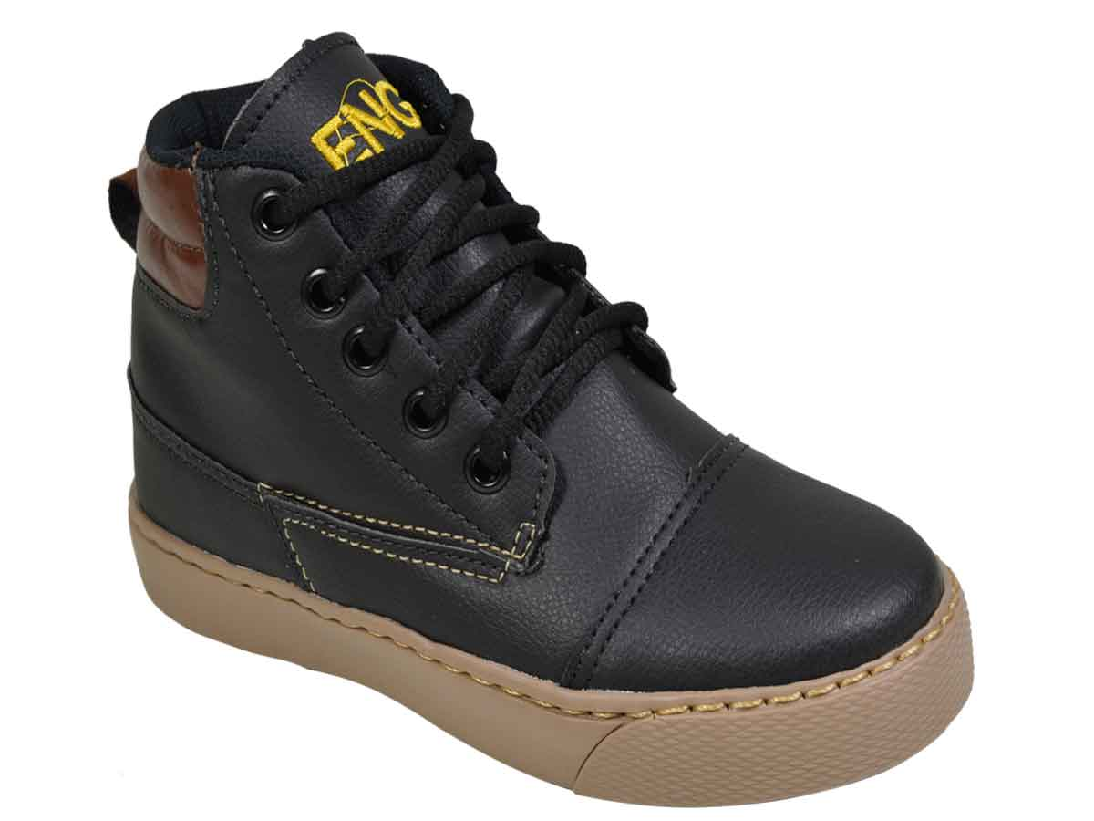 Bota Infantil  BoardWalk  - Preto  Atacado