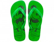 Chinelo Havaianas Top Disney - Green Neon Atacado