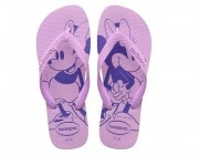 Chinelo Havaianas Top Disney - Lilás Soft Atacado