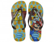 Chinelo Havaianas Mario Bros - Ice Blue Atacado