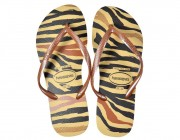 Chinelo Havaianas Slim Animals - Marfim Atacado
