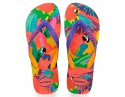 Chinelo Havaianas Top Fashion - Flamingo Atacado
