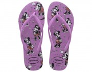 Chinelo Havaianas Slim Disney - Ice Pink Atacado
