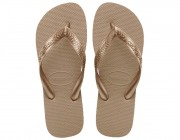 Chinelo Havaianas Top - Rose Gold Atacado