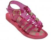 8070e34bb Sándalia Baby Zapata BM - Pink Glitter Atacado